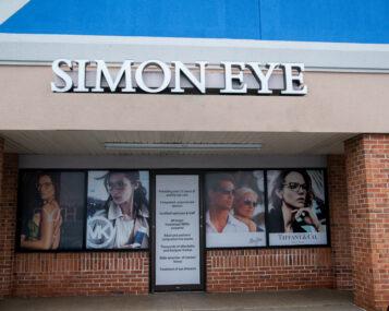 The outside of a Simon Eye building.