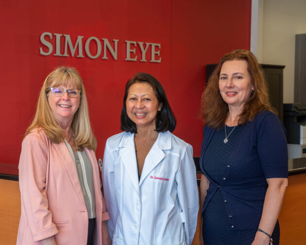 Staff at Simon Eye West Chester.